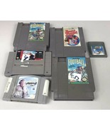 Set Of 6 Nintendo Sports Games NES SNES N64 Gameboy Color Madden Tony Hawk - $19.89