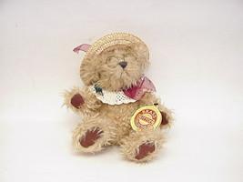 "Vintage Brass Button Bear "" Rosie"" The Bear Of Joy - $8.90"