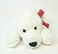 "Goffa International White Polar Bear Plush Red Scarf 12"" Stuffed Animal - $14.99"