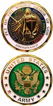 U.S. Army Put On The Whole Armor Of God Challenge Coin (Eagle Crest 2457) - $20.99