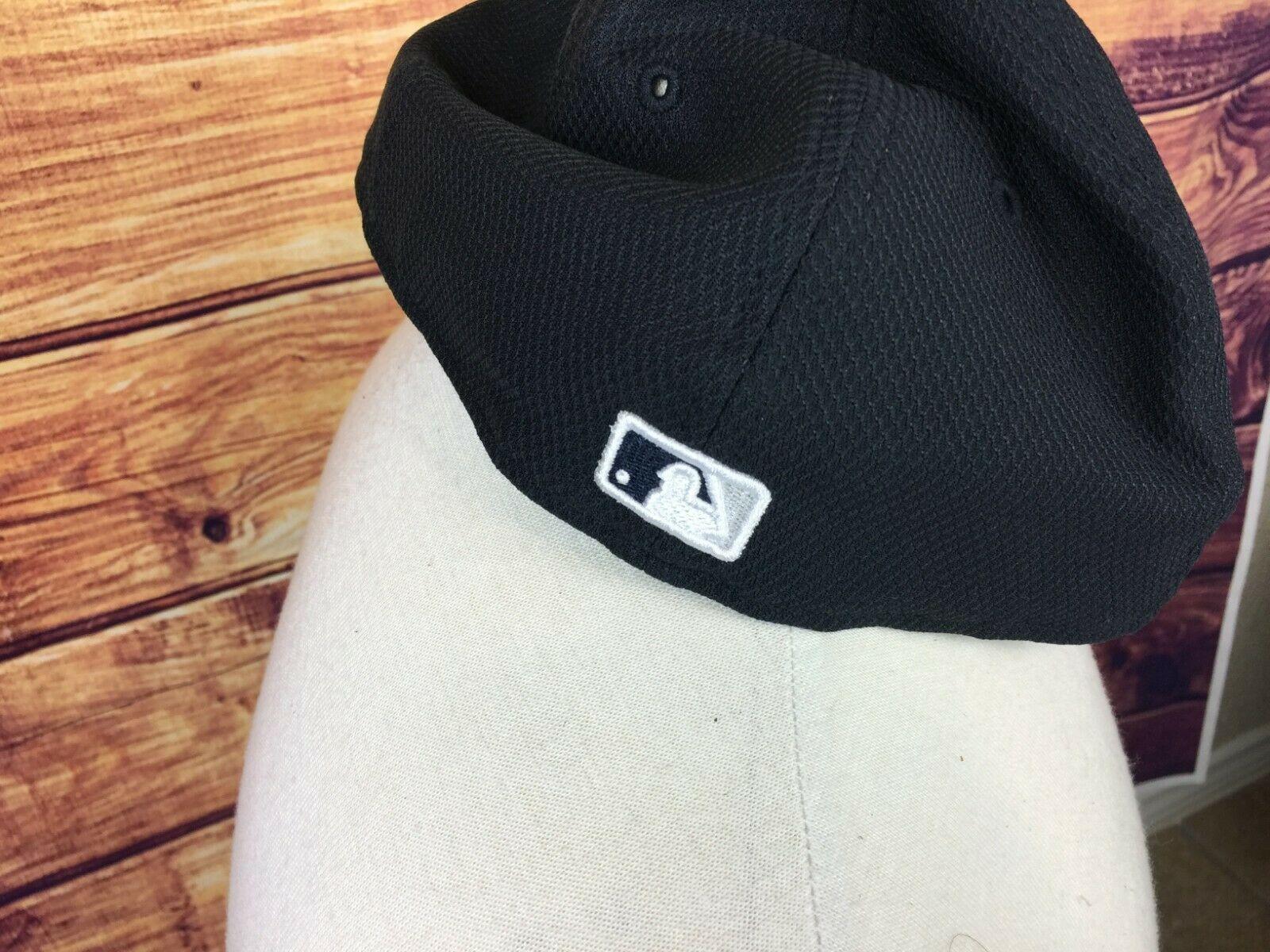 New Era New York Yankees Navy/Gray Road Diamond Era 59FIFTY Fitted Hat 7 5/8