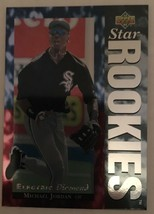 1994 Upper Deck Michael Jordan Electric Diamond #19 Baseball Card NM/M W... - $13.49