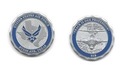 """DYESS AIR FORCE BASE TEXAS B-1B 1.75""""  CHALLENGE COIN - $16.24"""