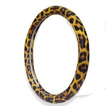 PANDA SUPERSTORE Classic Leopard Design Girl Steering Wheel Cover,Noble Imperial