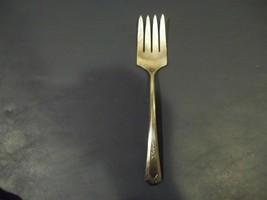 Vintage Wm. Rogers & Son LA FRANCE Pattern Cold Meat Serving Fork Made 1920 - $6.92