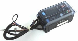 KEYENCE FS-V1 PHOTOELECTRIC FIBER AMPLIFIER & FS-T2 FIBEROPTIC SENSOR