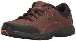 Rockport Men's Chranson Dark Brown/Black 10.5 W EE-10.5 W - $72.98
