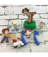 Disney Pixar Toy Story Figures McDonalds Toys Lot-Woody Jesse Buzz Bullseye - $19.79