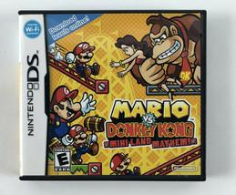 Nintendo DS Mario vs Donkey Kong - Complete w/Cartridge Case & Manual - $14.84