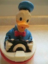 """Donald Duck 1976 Walt Disney Productions 9 """" tall Roly Poly Musical baby... - $6.49"""
