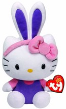 Ty Beanie Babies Hello Kitty with Purple Ears Plush - $33.79