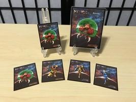Mini Metroid: Samus Returns Amiibo Cards (4) - $9.99