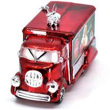 Kurt S Adler Coca-Cola & Santa Delivery Truck Hand-Crafted Glass Ornament CC4151 image 5