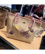 NWT Coach Disney Sleeping Beauty Signature City Tote Bag Khaki Multi $350 - $121.19+