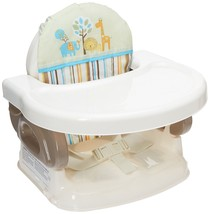 Summer Infant Deluxe Comfort Folding Booster Seat With Tray Level Adjust... - $22.39