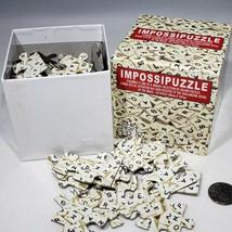Impossipuzzle Scramble Jigsaw Puzzle 100 Pieces Scrabble Letter Tiles Fu... - $7.95