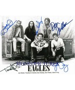 THE EAGLES BAND AUTOGRAPHED RP PHOTO WALSH GLENN FREY HENLEY FELDER AND ... - $18.99