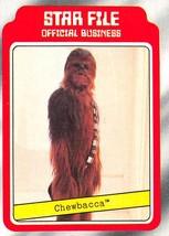 1980 Topps Star Wars #5 Star File Chewbacca > Peter Mayhew > I - $0.99