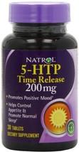 Natrol 5-HTP Time Release Tablets 200mg Serotonin 30 count MDMA Hangover... - $25.39