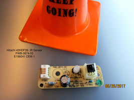 Hitachi 42HDF39- Ir Sensor PWB-0874-03 E196041 CEM-1 - $11.30