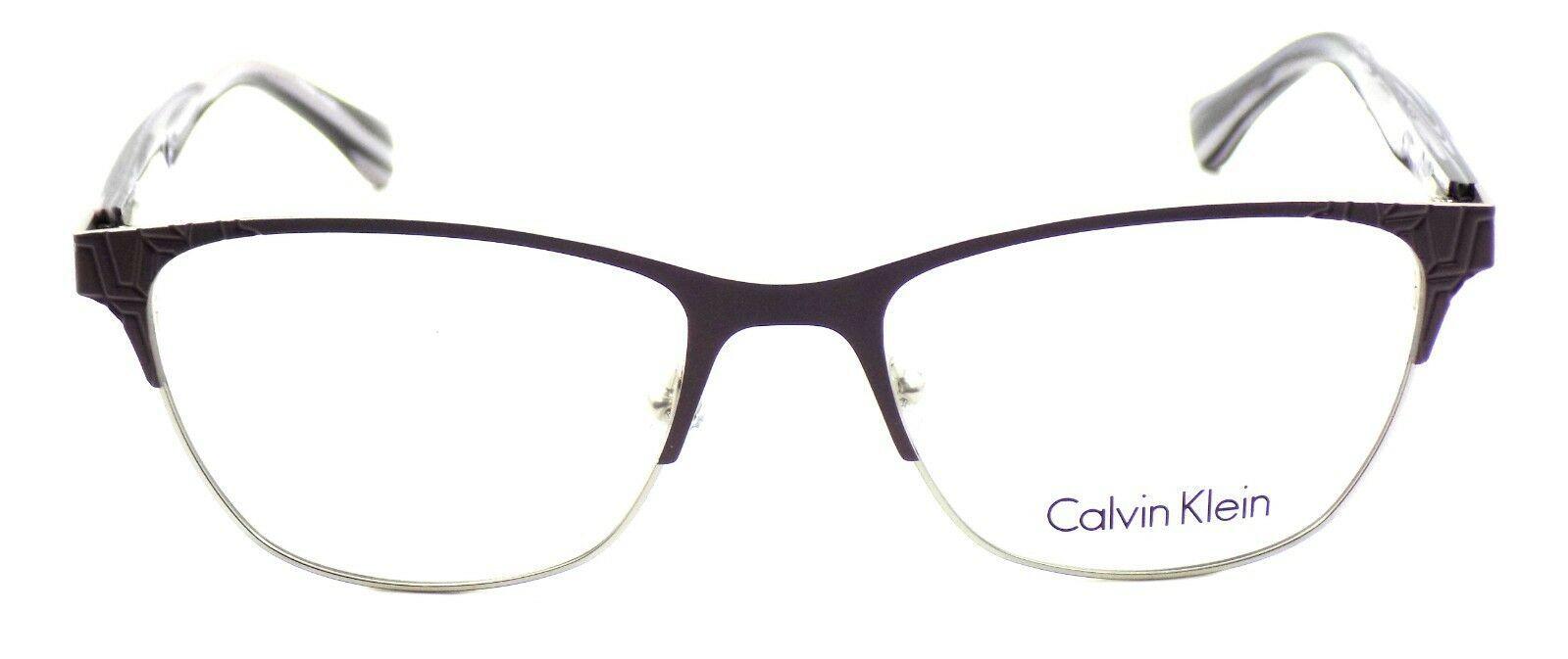 Calvin Klein CK5413 531 Women's Eyeglasses Frames Mauve 52-17-135 + CASE