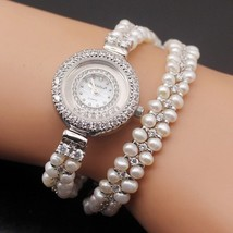 jewelry Elegant new high-end multi-pearl combination pieces of 925 sterl... - $85.47
