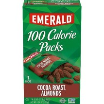 Emerald Nuts Cocoa Roast Almonds, 100 Calorie Packs, 7 Ct - $13.85