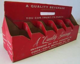Coca-Cola Bottle Master Twelve Cardboard Carrier circa 1950's - $29.95
