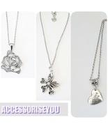 SALE SET OF 3 Stainless steel necklaceset bulk sale - $13.00