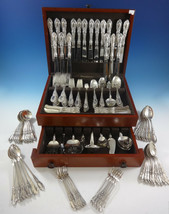 King Richard by Towle Sterling Silver Dinner Flatware Set 18 Service 175 Pieces - $11,500.00