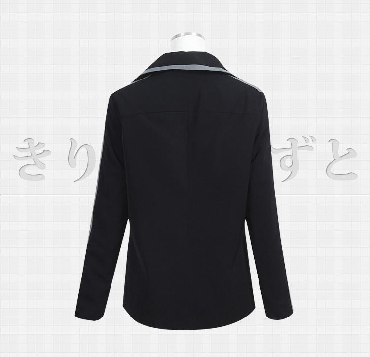 Sword Art Online 2 Phantom Bullet Kirito Black Hoodies Jacket Coat Cosplay