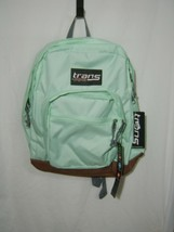 TRANS KIDS BACKPACK BY JANSPORT SUPER COOL BROOK GREEN NWT :B19-5 - $27.75