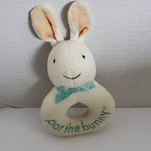 Eden Pat the Bunny Stuffed Plush Baby Toy Ring Rattle - $33.65