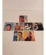 Elvis Presley Chu Bops Mini Lp Album Covers~ Lot Of 7 - $9.89