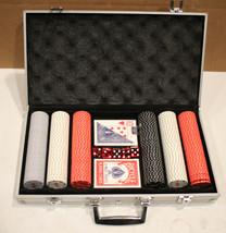 Milwaukee Poker Chips, Dice & Cards Set - $38.89