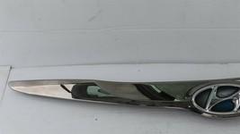 11-15 Hyundai Sonata Hybrid Hood Garnish Upper Grille Chrome Molding 86356-4R000 image 2