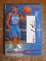 Mike Sweetney 2003-04 Fleer Focus Autograph #49/100 New York Knicks - $12.38
