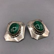 Vintage Sterling Silver Clip On Earrings - $53.45