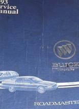 1993 BUICK ROADMASTER Service Workshop Repair Shop Manual FACTORY - $33.61