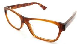 Gucci Eyeglasses Frames GG0006OA 006 55-17-150 Havana Made in Italy - $245.00