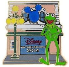 Disney Jim Henson Muppets Chase Visa Cardmember Collection Kermit the Fr... - $6.85