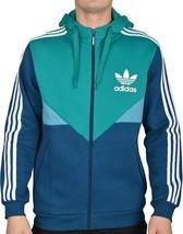 Adidas Originals Colorado Full Zip Hoodie Fleece Sweat Top Hooded Jacket... - $64.01