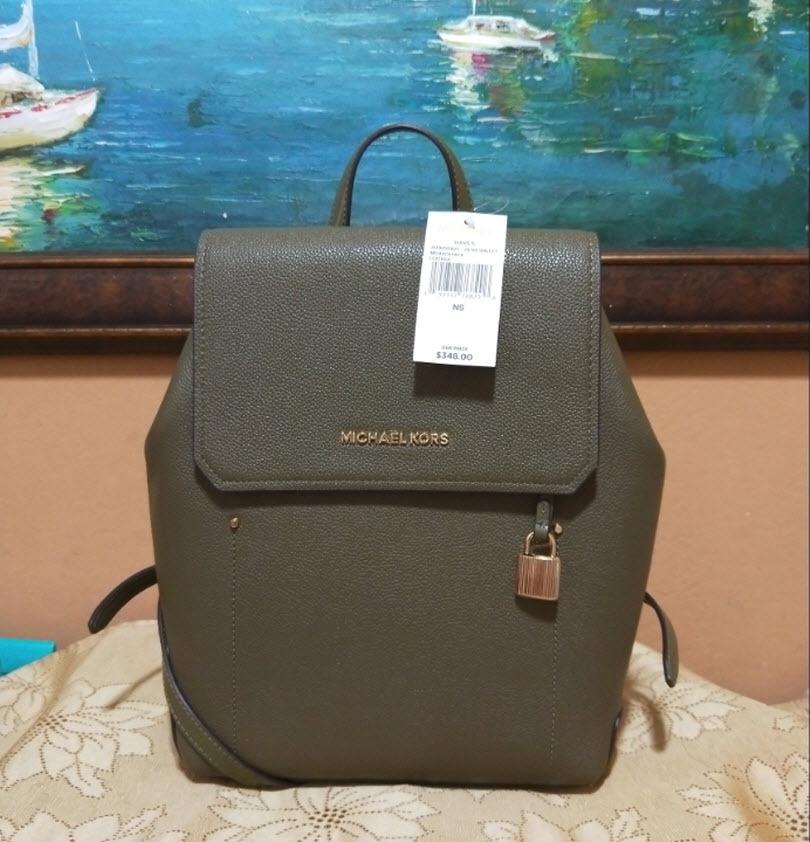 904d4ebadf05 Michael Kors Hayes Medium Size olive green and 50 similar items