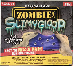 Zombie Slimygloop Wiggly Eyes Creations Slime Maker Kids Craft Educational Fun