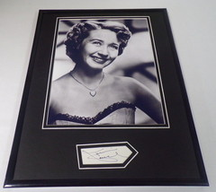 Jane Powell Signed Framed 11x14 Photo Display  - $52.00