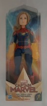 Captain Marvel Movie Cosmic Captain Marvel Super Hero 11.5 Inch Doll Age... - $17.77