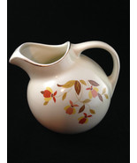 Vintage Superior Hall Jewel Tea Autumn Leaf Water Pitcher - $39.59
