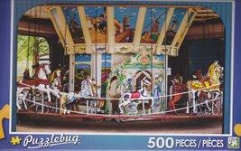 Puzzlebug 500 Piece Puzzle ~ Retro Carousel - $3.95