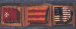 Vintage Flags of Countries Around the World Wallpaper Border Retro Desig... - $16.33