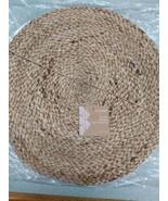 "Set Of 4 Newbridge Jule Placemats Braided  15"" New - $24.99"